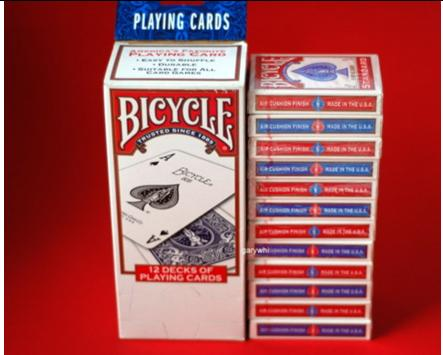 bicycle glasgow magician cards