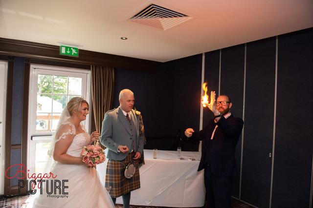 glasgow wedding magician